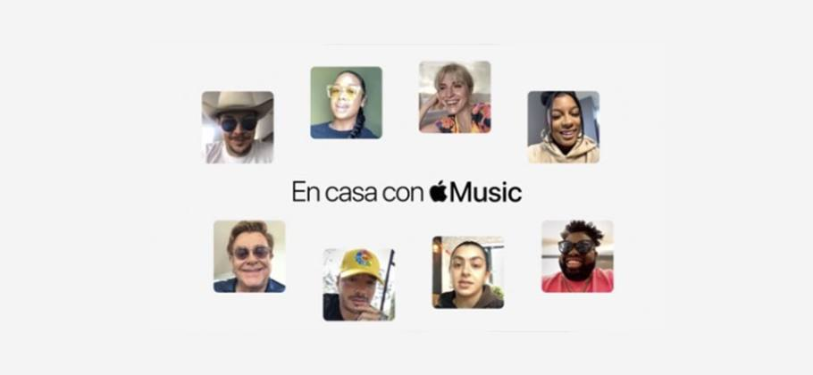 En casa con Apple Music