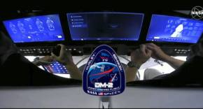 iPad DM-2 en la Crew Dragon