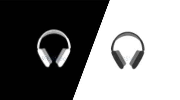 Logo auriculares diadema de Apple