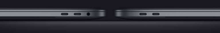 Thunderbolt MacBook Pro 2020