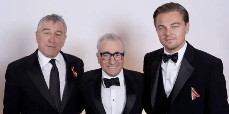 Scorsese de Niro y DiCaprio