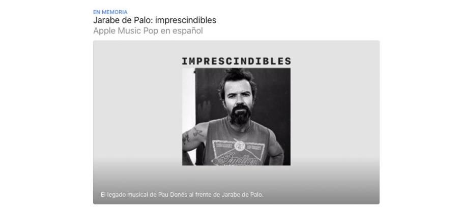 Apple Music - Pau Donés