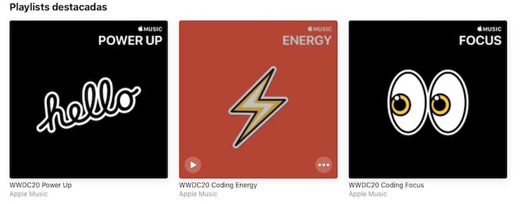 Apple Music - Playlist WWDC20