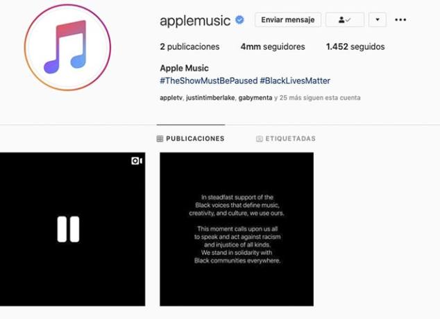 Apple Music The Show must be paused