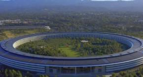 Apple Park - drone mayo 2020