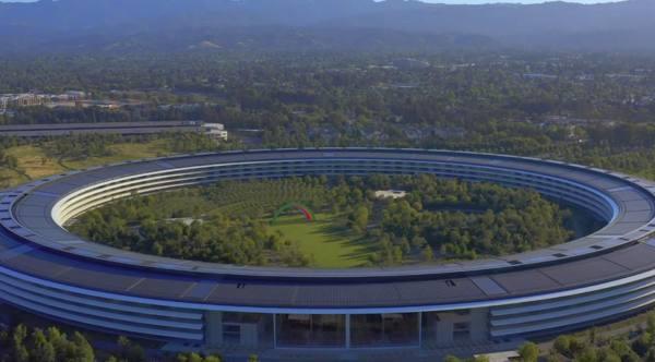 Apple Park - drone mayo 2020