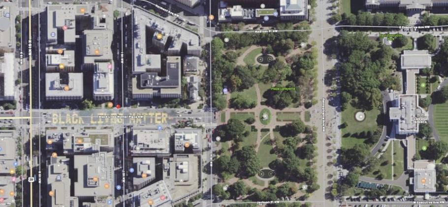 Apple Maps - Calle de Washington Black Lives Matter