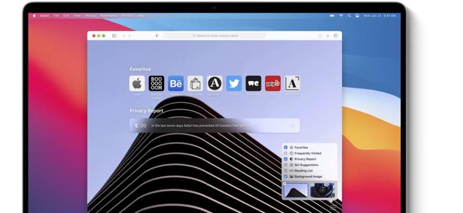 Safari en macOS Big Sur