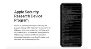Apple Security Research Device