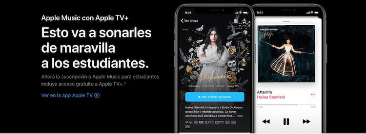 Apple TV+ gratis para estudiantes
