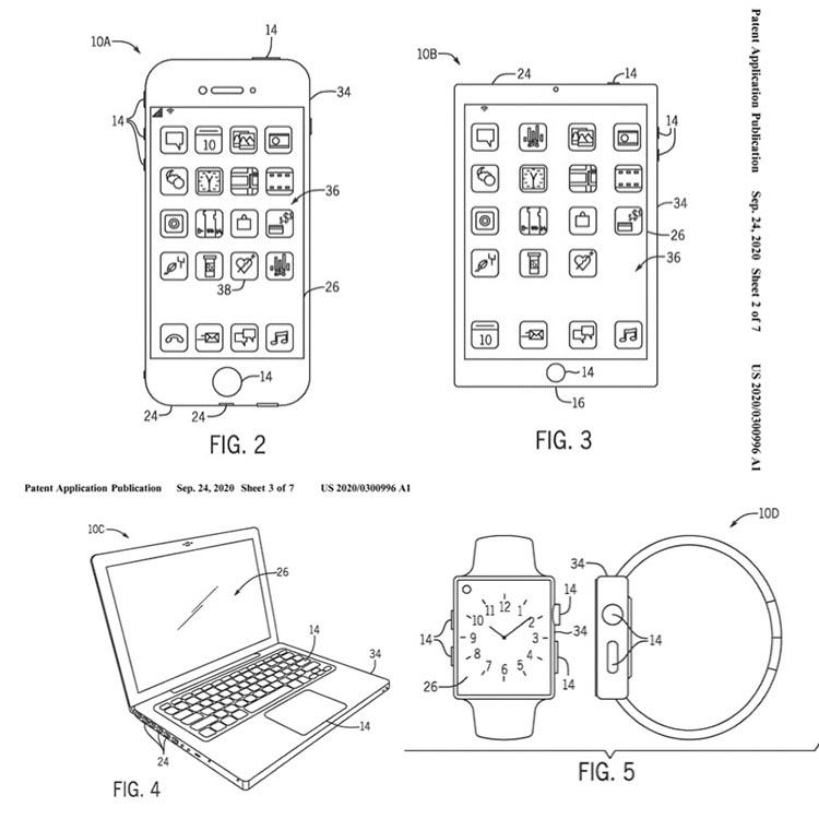 Patente seguridad del 5G de Apple - dispositivos