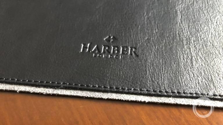 Alfombrilla de cuero para escritorio de Harber London - base gruesa