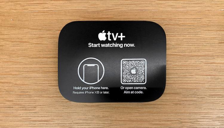etiquetas NFC y Códigos QR Apple Store