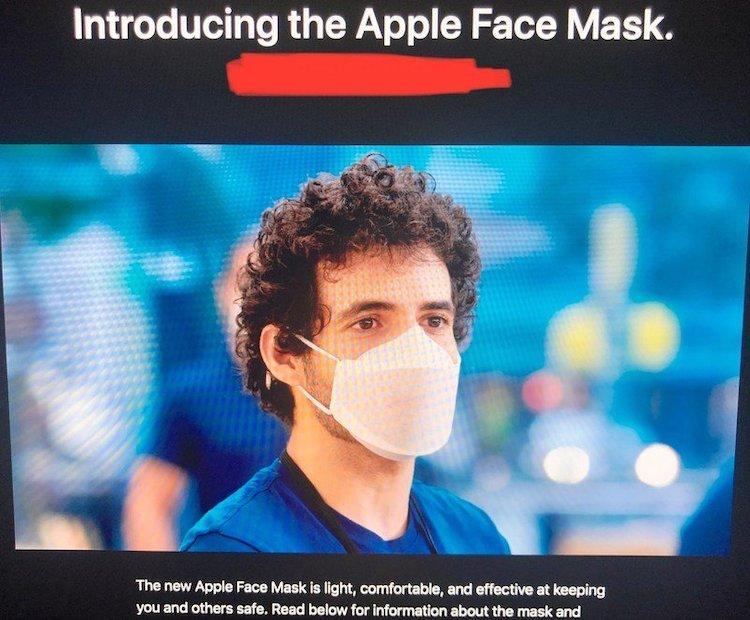 Apple Mask Design