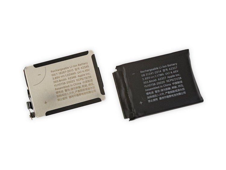 Comparativa batería Apple Watch Series 5 y Series 6