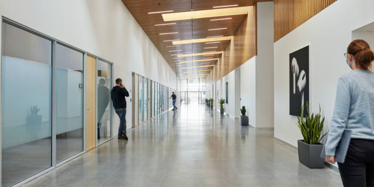 Interior del Data Center de Apple en Viborg