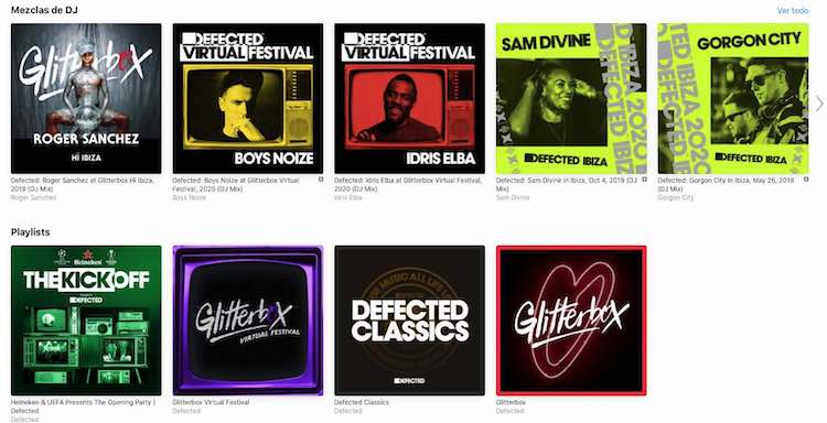 Defected y Glitterbox