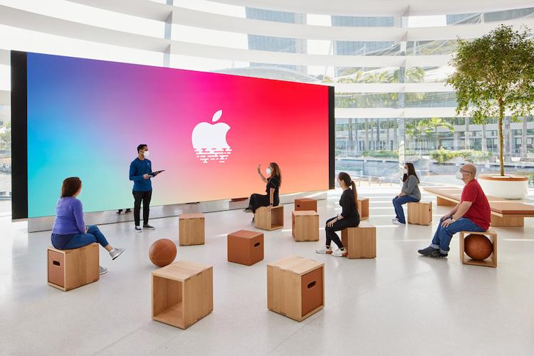 Inauguración de la Apple Marina Bay Sands - Foro