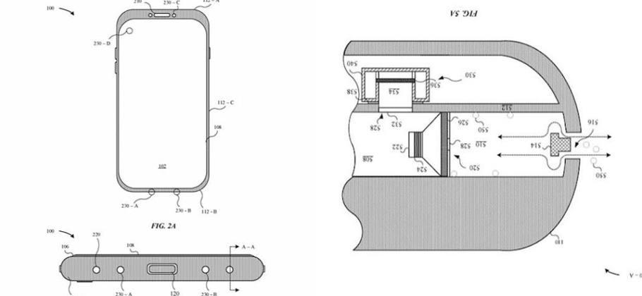 Patente Apple Expulsion agua
