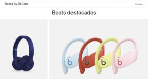 Beats By Dre web de Apple