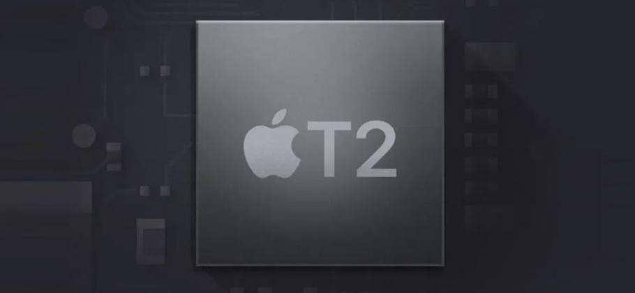 chip de seguridad T2 de Apple