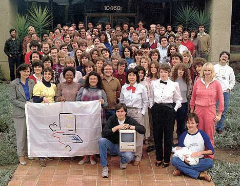 Equipo Mac de Steve Jobs