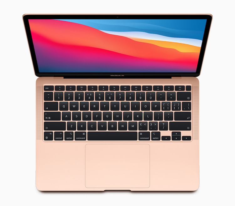 MacBook Air 2020 con chip M1