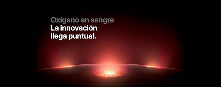 Apple Watch Series 6 - oxígeno en sangre